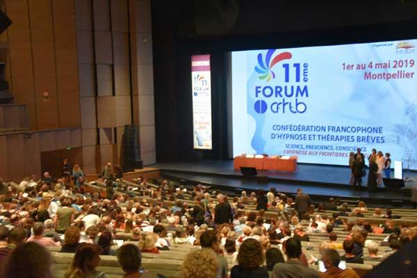 Hypnotim était présent et acteur au 11ème forum de la Confédération Francophone d'Hypnose et Thérapies Brèves