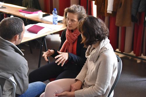 Atelier intérieur extérieur - Congrès Hypnose et Douleur de St Malo 2016