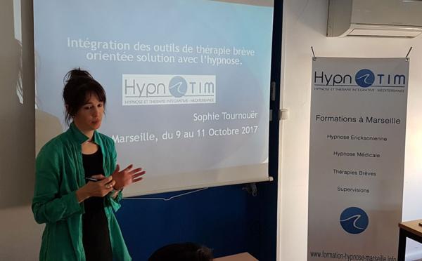 A Marseille : Formation Hypnose 2ème année.